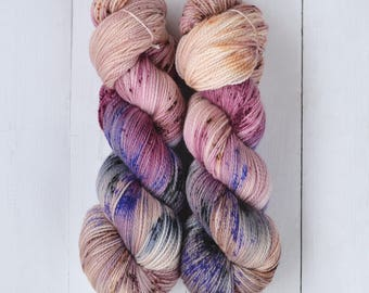 Hand Dyed Tough Sock Yarn - Hang in There