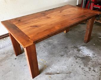 Handmade Reclaimed Wood Table