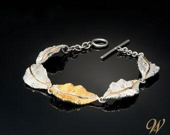 Bracelet Morning Dew / Diamond Bracelet / Silver Diamond Bracelet / Handcrafted Bracelet / Mothers Day Gift