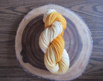 Morning Sun - Indie/Hand Dyed Bulky Weight Yarn 100% Wool