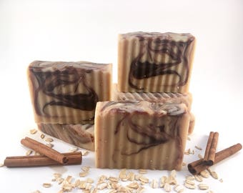 Oatmeal & Cinnamon Goat Milk Soap