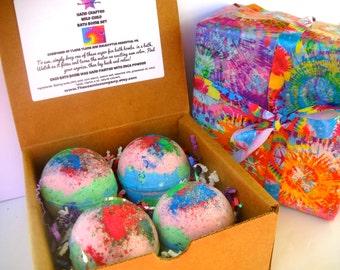 Wild Child Surprise Bath bomb Gift Set