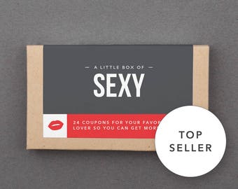 "Funny First Paper Anniversary Gift. For Boyfriend, Man, Men, Husband, Him. Kinky, Naughty, Romantic. ""Sexy Sex Coupons"" (L2SEX)"