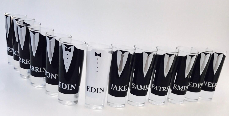 Wedding Shot Glasses Wedding Favors Personalized Shot