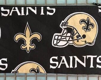 New Orleans Saints Zipper Pouch