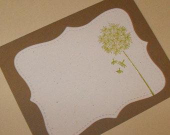 Dandelion note set