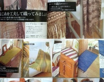 Choose One - Hand Weaving Book - Japanese Craft Book