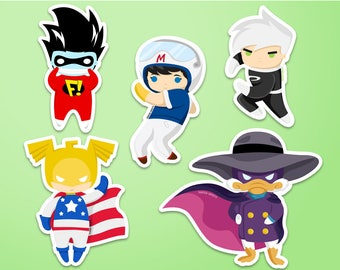 Childhood Heroes Stickers