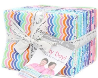 ON SALE Rainy Day 40 Fat Quarter Bundle by Me & My Sister Designs for Moda Fabrics 22290AB