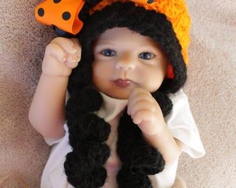 Baby girl Halloween hat