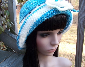 20s Style Crocheted Hat