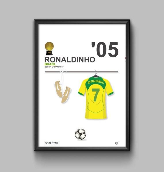 Ronaldinho Ballon D'or Winner 2005