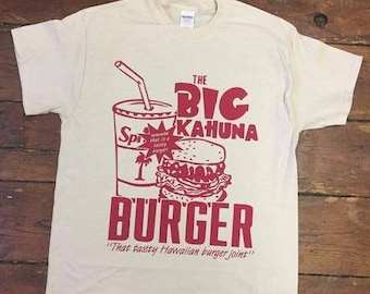 Vintage Big Kahuna Burger T-Shirt (From Quentin Tarantino's Pulp Fiction)