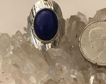 Lapis Ring Size 9