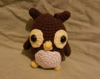 Crochet Amigurumi Owl- It's a Hoot!