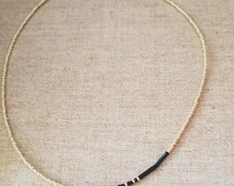 Customizable Morse Code Name Necklace