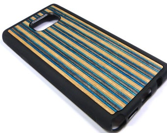 Made To Fit Samsung Galaxy Note 5, Recycled Skateboards, Wooden Samsung Case, Phone Case, Cool Gifts, Cool Phone Case, Unique Gifts
