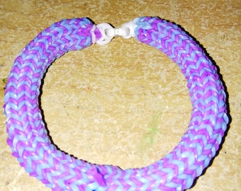 Purple and Aqua Hexafish