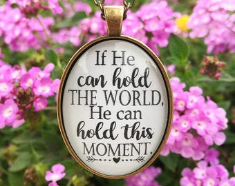 Hold This Moment Pendant Necklace
