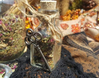 Mabon Blend- Fall, Second Harvest, Harvest, Thanksgiving, Key, Ritual, Sabbat, Herbal, All Natural