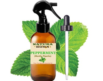 Pure Organic Peppermint Essential Oil. THERAPEUTIC GRADE. Repel Bugs and Critters. Helps with digestive, fevers, respiratory, headaches, etc