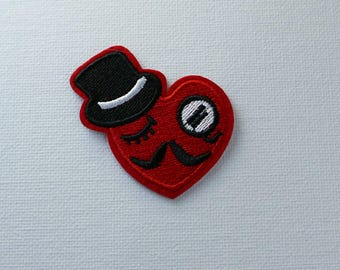 Heart patch Iron On Patch