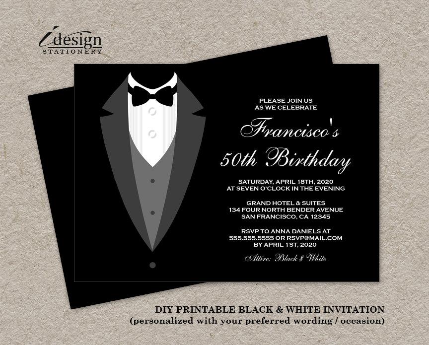 Casino night invitations 13