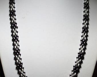 Delicate Hand Sewn 19 inch Necklace with magnetic clasp