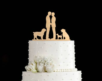 Gay wedding cake toppers dog,mr and mr gay cake topper dog,gay wedding toppers dog,mr and mr cake topper dog,mr and mr cake dog,6002017
