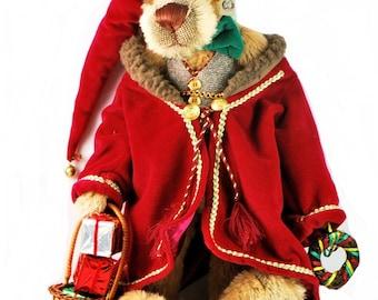 Effanbee Mohair Oh Josh as Ebaneezer Christmas Bear