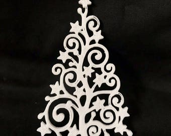 3d printed Christmas Tree Ornament/Ornament/decoration/Tree decoration/tree decor/xmas/holiday/for her/for him/beautiful/