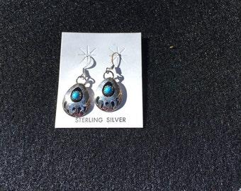 Bear claw earrings