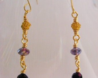 Rosary Earrings