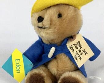 Collectible Vintage 1975 Paddington Bear By Eden Toys