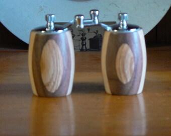Handmade Wooden Salt and Pepper Grinders - Handmade Wooden Salt and Pepper Mills – Wood, Metal, Ceramic Grinder-SPM387