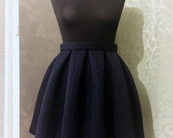 New handmade pleated skirt