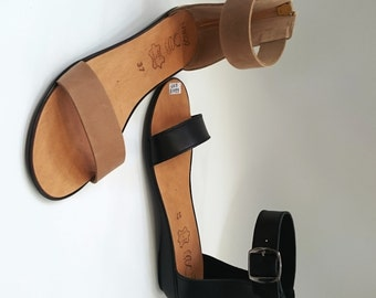 "Greek Leather Sandals ""cynthia"" code #407"