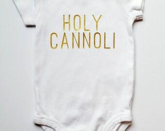 HOLY CANNOLI Baby One-Piece Bodysuit