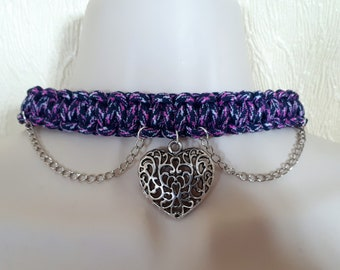 Large heart Choker