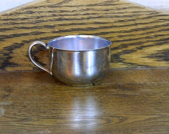 Oneida Silver Plate Baby Cup
