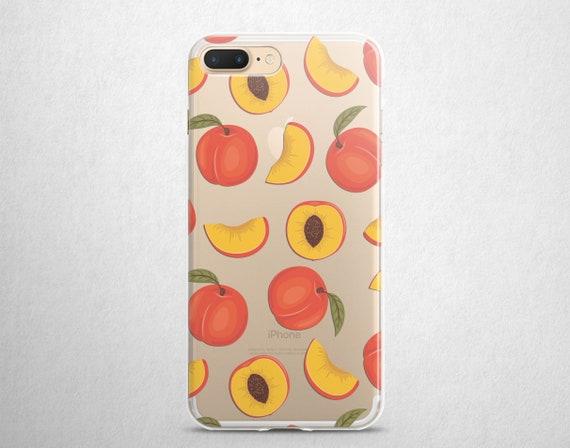 peaches iphone 8 case