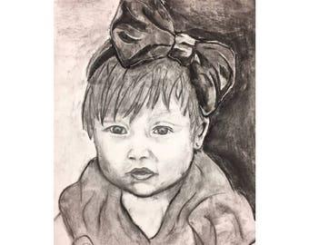 Charcoal/pencil portraits