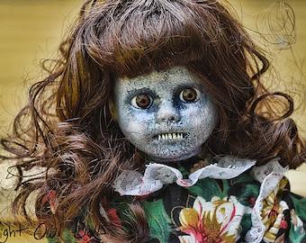Patricia (OOAK Horror Porcelain Doll)