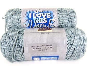 Tin Roof - I Love This Yarn worsted weight variegated 100% acrylic - 2401