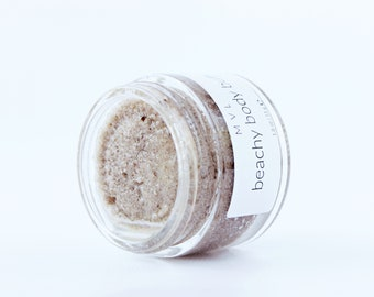 BEACHY BODY BUFF Coconut body scrub, sugar body scrub, 100% natural and vegan body scrub