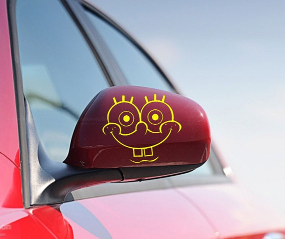FUN STICKERS SpongeBob Car Decals X - Spongebob decals for cars