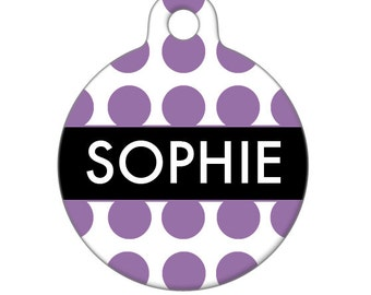 Personalized Pet ID Tag - Sophie Custom Name  Pet Tag, Dog Tag, Cat Tag