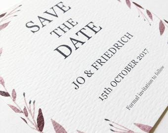 Jo (Printable) Save the Date