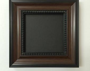 "24x36 1.25"" Walnut Beaded Solid Wood Picture Frame-Plexiglass"