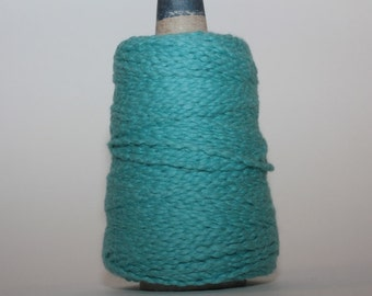 Halcyon Casco Bay Cotton Worsted mini-cones, color 0972090M, Lot 1   Turquoise